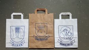 Tašky plastové, papierové